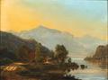 Frederik Christian Kiærskou - Bjerglandskab med en bugtende flod.png