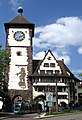 Freiburger Schwabentor mit Stadtbahn (Urbos) 27.jpg