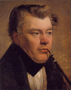 Thomas Ender - by Friedrich von Amerling