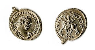Frome Hoard - Silver denarius of Carausius Adventus