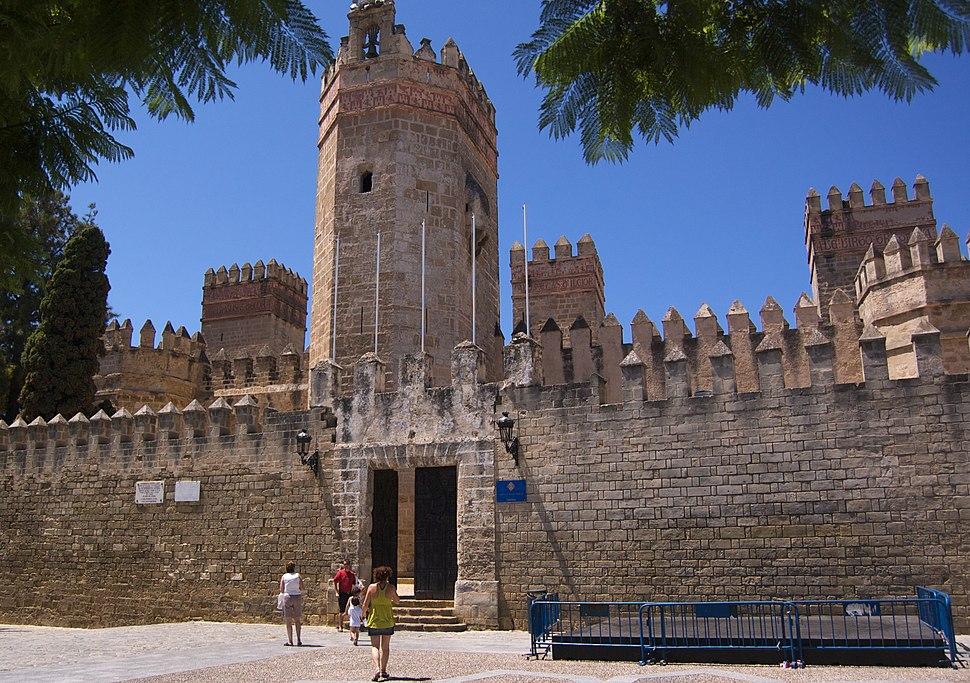 Frontal del castillo