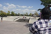 Frontside 180 - women's round - Battle for the Beach skate contest - Far Rockaway Skatepark - September - 2019.jpg
