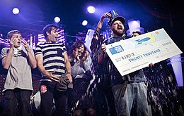 Fucked up at the polaris music prize gala 2009 by dustin rabin.jpg