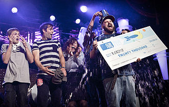 Polaris Music Prize - Fucked Up at the Polaris Music Prize gala in 2009