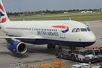 G-EUUL - A320 - British Airways