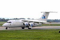 G-FLTD B.Ae 146-200 AirSal.it (op by Flightline) MAN 19OCT05 (6024472255).jpg