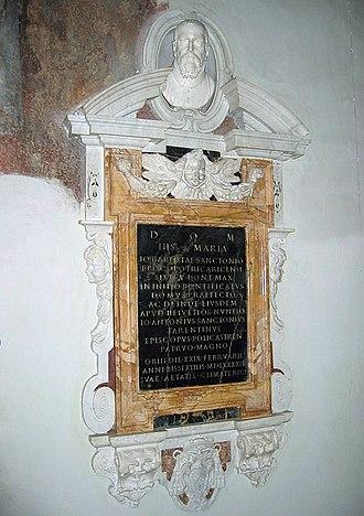 Bust of Giovanni Battista Santoni - Image: GB Santoni