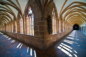 Germanisches Nationalmuseum - Grand Cloister of the former Carthusian monastery, today part of the museum buildings