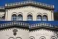 Gable details of Bronbeek mainbuilding, Protector and founder was King William III at 1863 - panoramio.jpg