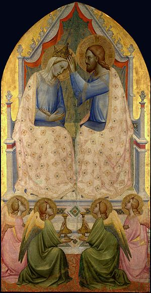 1380s in art - Image: Gaddi Agnolo Coronation