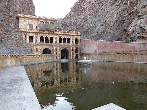 Galta Temple, Jaipur, Rajasthan, India