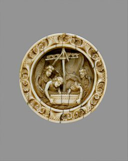 Game Piece with a Scene from the Life of Apollonius of Tyre MET DT144