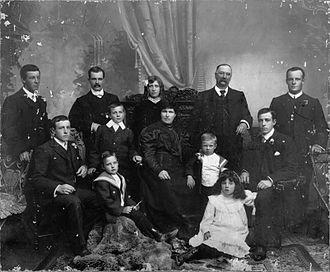 James Gapes - Gapes family, ca 1907