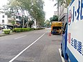 Garbage truck near Taichung Botanical Garden 02.jpg