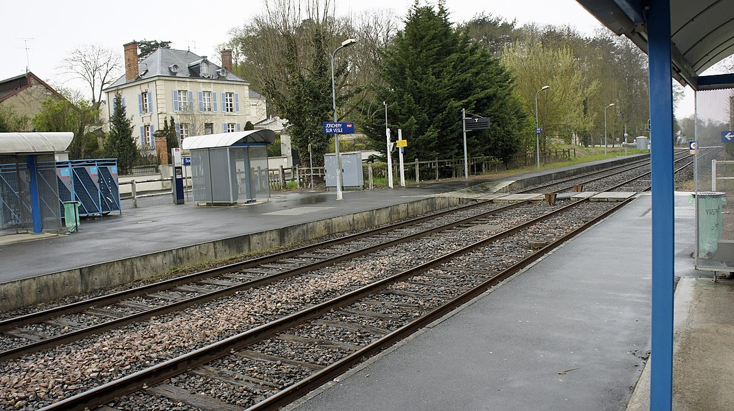 Gare de Jonchery sur Vesle.