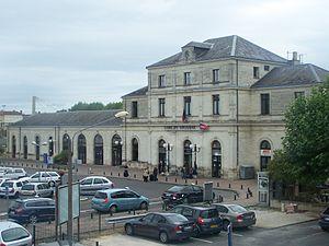 Gare de Libourne - The passenger building and station entrance