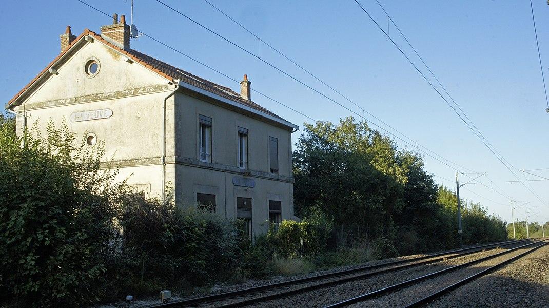 La gare de la Veuve.