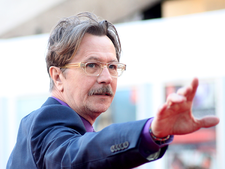 Gary oldman at the london premiere of tinker tailor soldier spy