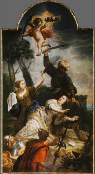 File:Gaspar de Crayer - The martyrdom of St Barbara.tiff