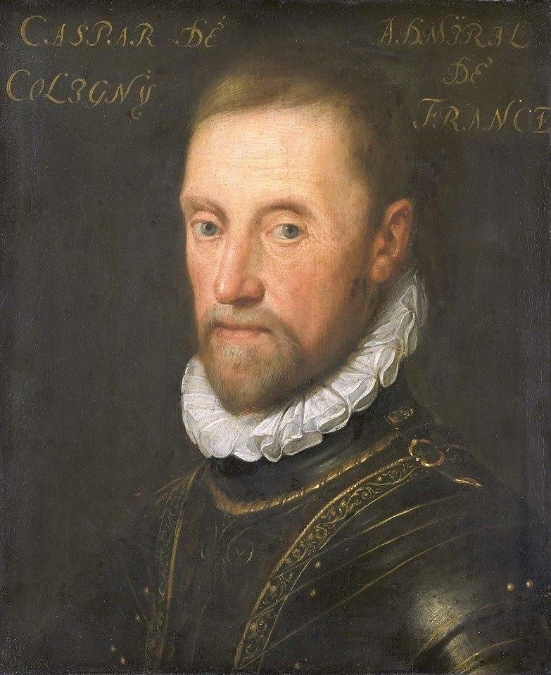 Gaspard de Coligny 1517 1572