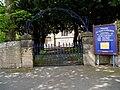 Gate to St. Mary's Church, Minera - geograph.org.uk - 1585050.jpg