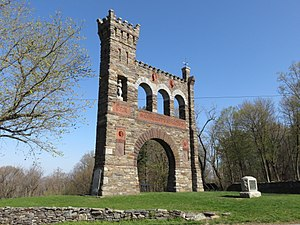 Gathland State Park - The War Correspondents Memorial Arch at Gathland State Park