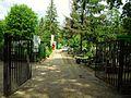 Gdańsk Cmentarz Oliwski brama od ulicy Opackiej.JPG
