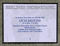 Gedenktafel Bregenzer Str 5 (Wilmd) Otto Reutter.JPG