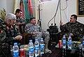Gen. Bismillah Mohammadi speaks to Lt. Gen. Caldwell (4250801225).jpg