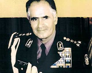 Gholam Ali Oveissi Iranian Army general