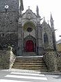 Gennes-sur-Seiche (35) Église Saint-Sulpice Façade ouest 01.JPG
