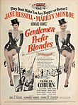 Gentlemen Prefer Blondes 1953 magazine poster.jpg