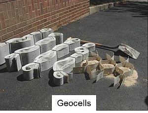 Cellular confinement - Geocells