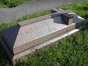 George Taubman Goldie - Gravestone, Brompton Cemetery, London