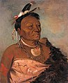 George Catlin - Wee-tá-ra-shá-ro, Head Chief of the Tribe - 1985.66.55 - Smithsonian American Art Museum.jpg