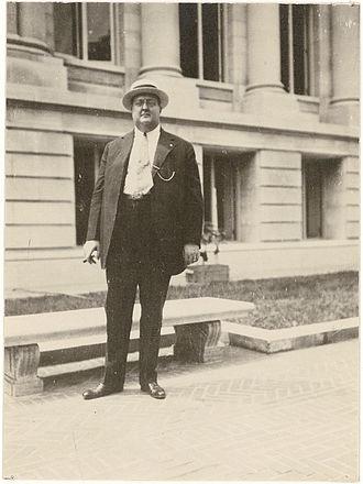 George Gustav Heye - Heye in 1917