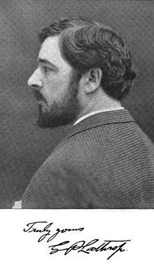Poet George Parsons Lathrop