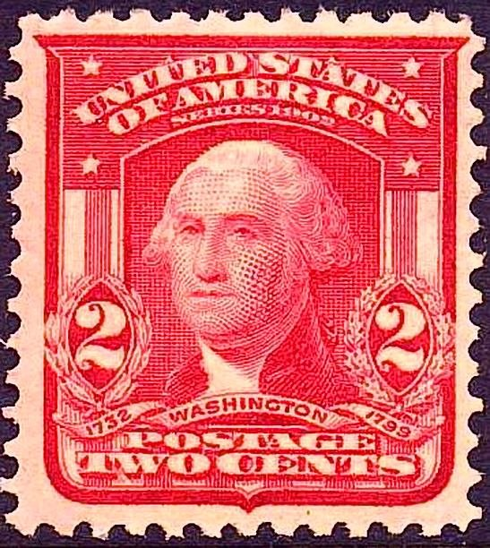 George Washington2 1903 Issue-2c