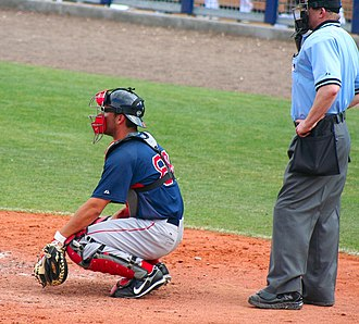 George Kottaras - Kottaras playing for the Boston Red Sox in 2009 spring training