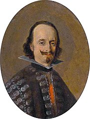 Portrait of Don Caspar de Bracamonte y Guzman, count of Peñeranda
