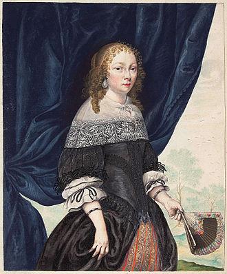 Gesina ter Borch - Self portrait, 1661