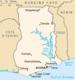 Lake Volta in Ghana