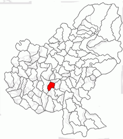 Location of Gheorghe Doja