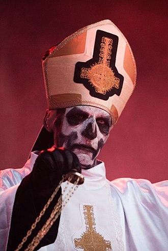 Tobias Forge - Forge in his Papa Emeritus persona, 2012.