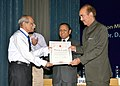 Ghulam Nabi Azad presented the Indian Red Cross certificates of merit, at the Business Session of the Annual General Meeting of the Indian Red Cross Society & St. John Ambulance (India), in New Delhi on May 03, 2013 (1).jpg