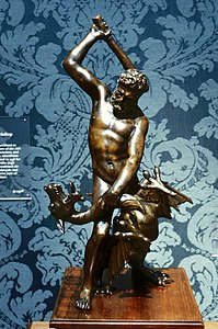 Giambologna - Hercules and the Dragon Ladon - Walters 54695.jpg