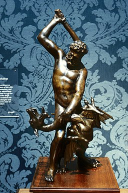 Giambologna - Hercules and the Dragon Ladon - Walters 54695