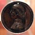 Gian francesco enzola, medaglia di costanzo sforza, signore di pesaro, 1475, 01.jpg
