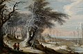 Gijsbrecht Leytens - Winter landscape animated with villagers.jpg