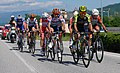 Giro d' Italia (Stage 19) leading group and winner of the Stage 19 Esteban Chavez (Mitchelton-Scott).jpg